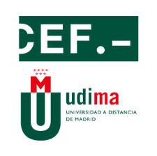CEF.- UDIMA